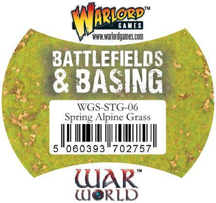 Warlord Games   Sand & Flock Warlord Scenics: Spring Alpine Grass - WGS-STG-06 - 5060393702757
