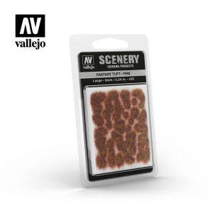 Vallejo   Vallejo Scenics AV Vallejo Scenery - Fantasy Tuft - Fire, Large: 6mm - VALSC431 - 8429551986298
