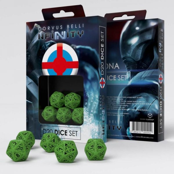 Q-Workshop Infinity  Ariadna Ariadna D20 Dice Set - 285041 - 2850410000002