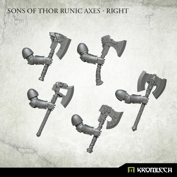 Kromlech   Misc / Weapons Conversion Parts Sons of Thor Runic Axes - Right - KRCB283 -