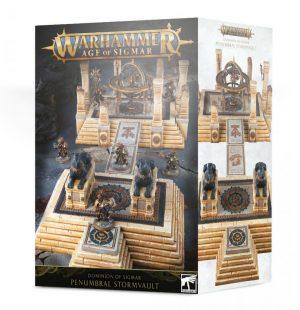 Games Workshop (Direct)   Age of Sigmar Terrain Dominion of Sigmar: Penumbral Stormvault - 99120299058 - 5011921120185
