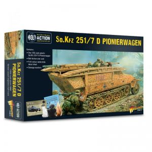 Warlord Games Bolt Action  Germany (BA) German Sd.Kfz 251 D Pionierwagen - 402012040 - 5060572503014
