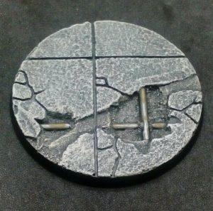 Baker Bases   Concrete Concrete: 60mm Round Bases (design A) - CB-CN-01-60M(a) - CB-CN-01-60M(a)