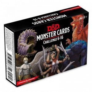 Gale Force Nine Dungeons & Dragons  D&D Decks D&D: Monster Deck 6-16 - C62830000 - 9780786966714