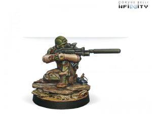 Corvus Belli Infinity  Haqqislam Djanbazan Tactical Group (Sniper) - 280430-0172 - 2804300001723