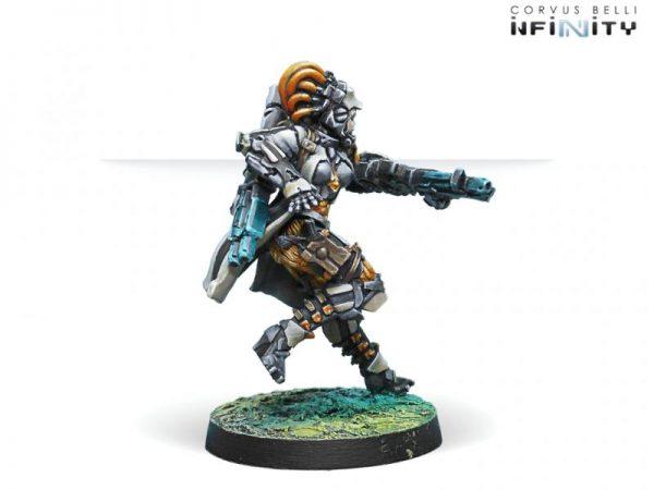 Corvus Belli Infinity  Tohaa Tohaa Kosuil Assault Pioneers (Boarding Shotgun) - 280926-0587 - 2809260005873