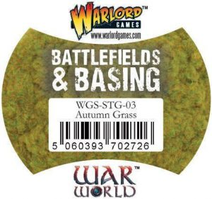 Warlord Games   Sand & Flock Warlord Scenics: Autumn Grass - WGS-STG-03 - 5060393702726
