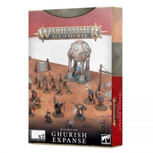 Games Workshop Age of Sigmar  Age of Sigmar Essentials Realmscape: Ghurish Expanse - 99220299099 - 5011921162390
