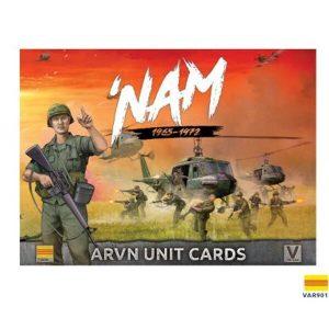 Battlefront Flames of War  SALE! Vietnam: ARVN Unit Card Pack - VAR901 - 9420020237216