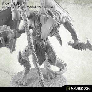 Kromlech   Heretic Legionary Model Kits F'aa'thum, Greater Stygian Wardemon of Fate (1) - KRM117 - 5902216114746