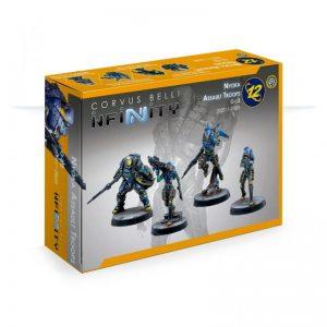 Corvus Belli Infinity  O-12 O-12 Nyoka Assault Troops - 282011-0868 - 2820110008684