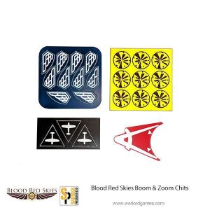 Warlord Games (Direct) Blood Red Skies  Blood Red Skies Blood Red Skies: Boom and Zoom Chit Set - BRS101 -