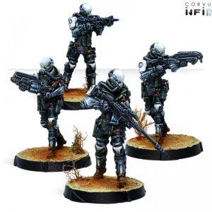 Corvus Belli Infinity  Non-Aligned Armies - NA2 Haqqislam / NA2 Kaplan Tactical Services (KTS) - 280745-0819 - 2807450008192