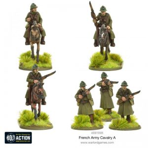 Warlord Games Bolt Action  France (BA) French Army Cavalry A - 403015505 - 5060572501652
