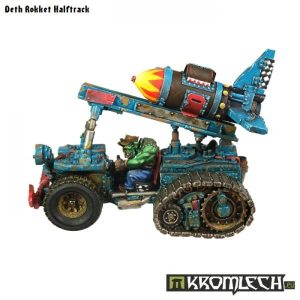 Kromlech   Vehicles & Vehicle Parts Deth Rokket Halftrack - KRVB017 -