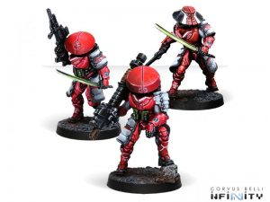 Corvus Belli Infinity  Non-Aligned Armies - NA2 Tanko Zensenbutai - 280729-0716 - 2807290007164