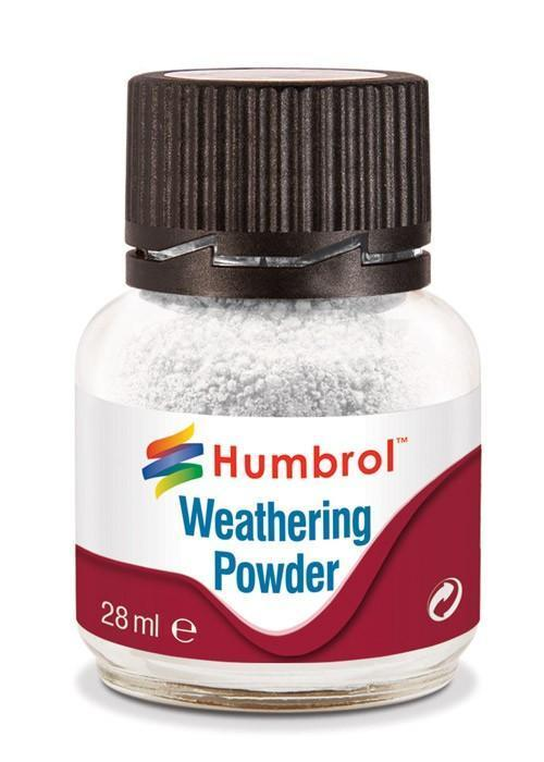 Humbrol   Weathering Powders Weathering Powder White 28ml - AV0002 - 5010279700032