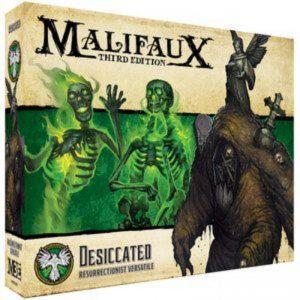 Wyrd Malifaux  Resurrectionists Desiccated - WYR23227 - 812152031814