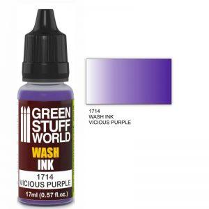 Green Stuff World   Wash Ink Wash Ink VICIOUS PURPLE - 8436574500738ES - 8436574500738