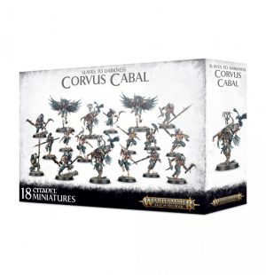 Games Workshop (Direct) Age of Sigmar  Slaves to Darkness Slaves to Darkness Corvus Cabal - 99120201089 - 5011921121939