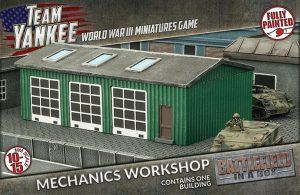 Gale Force Nine   Battlefield in a Box Team Yankee: Mechanics Workshop - BB209 - 9420020231641