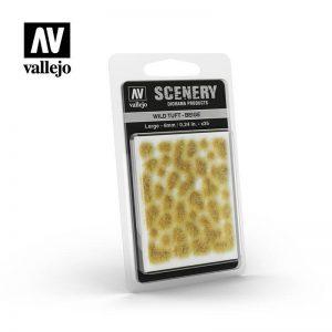 Vallejo   Vallejo Scenics AV Vallejo Scenery - Wild Tuft - Beige, Large: 6mm - VALSC420 - 8429551986182