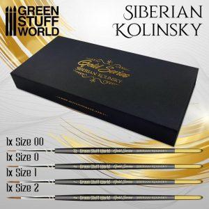 Green Stuff World   Green Stuff World Brushes Premium Brush Set - GOLD SERIES - 8436574509137ES - 8436574509137