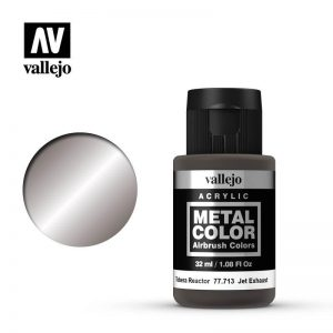 Vallejo   Metal Colour Metal Color - Jet Exhaust 32ml - VAL77713 - 8429551777131