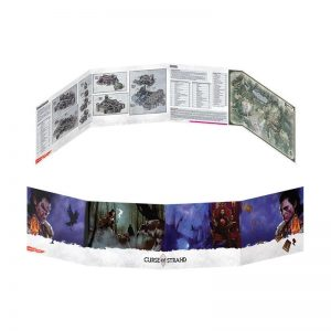 Gale Force Nine Dungeons & Dragons  D&D Extras D&D: Curse of Strahd Dungeon Master Screen - GFN73705 - 9420020231160