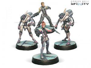 Corvus Belli Infinity  The Aleph Aleph Synchronized Deva Unit - 280825-0356 - 2808250003561