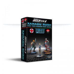 Corvus Belli Infinity  Ariadna Dire Foes Mission Pack Gamma: Xanadu Rush - 280038-0891 - 2800380008911