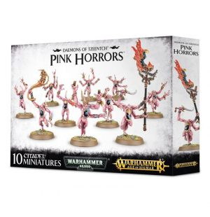 Games Workshop Warhammer 40,000 | Age of Sigmar  Chaos Daemons Pink Horrors of Tzeentch - 99129915048 - 5011921092857