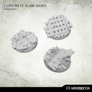 Kromlech   Concrete Slabs Bases Concrete Slabs Round 50mm (3) - KRRB016 - 5902216116160