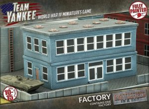 Gale Force Nine   Battlefield in a Box Team Yankee: Factory Building - BB192 - 9420020229846