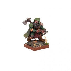 Mantic Kings of War  Dwarf Armies Herneas The Hunter - MGKWD90-1 - 5060208866285
