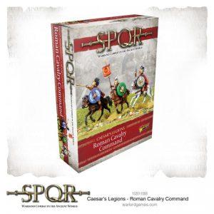 Warlord Games SPQR  SPQR SPQR: Caesar's Legions Roman Cavalry Command - 152011006 - 5060572504844