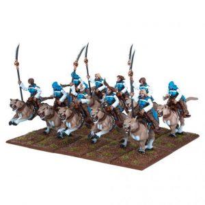 Mantic Kings of War  Forces of Basilea Basilean Sisterhood Panther Lancer Regiment - MGKWB24-1 - 5060208865042