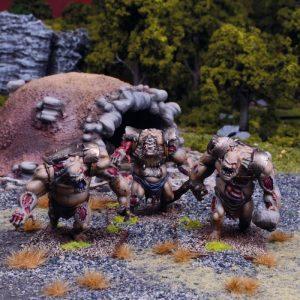 Mantic Kings of War  Undead Undead Zombie Troll Regiment - MGKWU106 - 5060208868937
