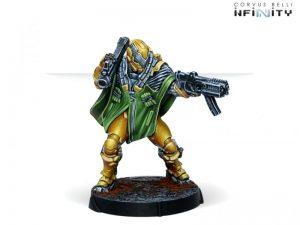 Corvus Belli Infinity  Yu Jing Yu Jing Zhencha, Armored Reconnaissance Regiment (Submachine Gun) - 281313-0815 - 2813130008154