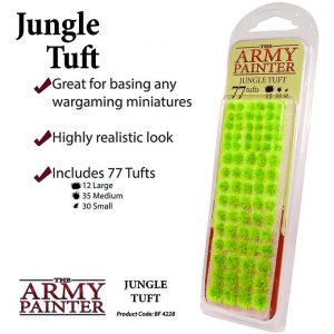 The Army Painter   Tufts Battlefields: Jungle Tuft - APBF4228 - 5713799422803