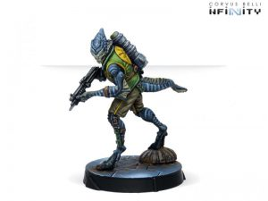 Corvus Belli Infinity  Non-Aligned Armies - NA2 Libertos Freedom Fighters (Light Shotgun) - 280743-0802 - 2807430008020