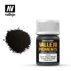 Vallejo   Pigments Vallejo Pigment - Natural Iron Oxide - VAL73115 - 8429551731157
