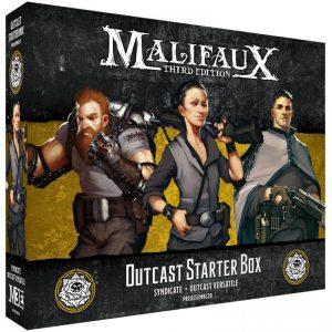 Wyrd Malifaux  Outcasts Outcast Starter Box - WYR23528 - 812152032965