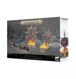 Games Workshop (Direct) Age of Sigmar  Slaves to Darkness Endless Spells: Slaves to Darkness - 99120201111 - 5011921133611