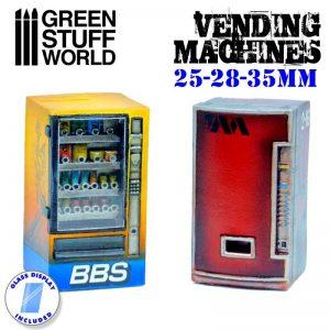 Green Stuff World   Green Stuff World Terrain Resin Vending Machines - 8436574504583ES - 8436574504583