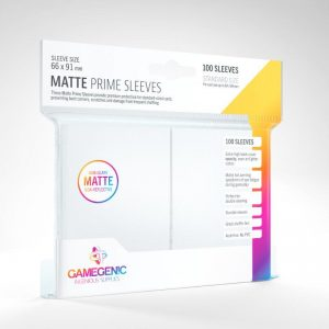 Gamegenic   SALE! Gamegenic Matte Prime Sleeves White (100 pack) - GGS11029ML - 4251715402412