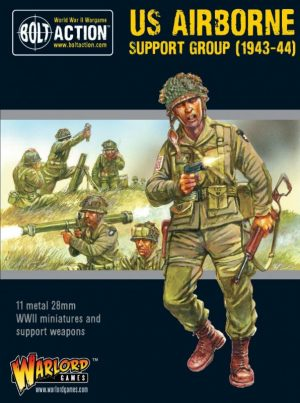 Warlord Games Bolt Action  United States of America (BA) US Airborne Support Group (1943-44) - 402213104 - 5060572503083