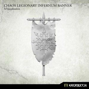 Kromlech   Heretic Legionary Conversion Parts Chaos Legionary Infernum Banner (1) - KRCB183 - 5902216115361