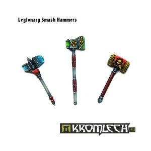 Kromlech   Legionary Conversion Parts Legionary Smash Hammers (6) - KRCB115 - 5902216112438