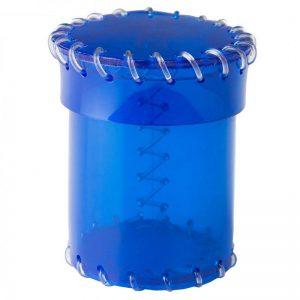 Q-Workshop   Q-Workshop Dice Age of Plastic Blue Dice Cup (PVC) - CAOP144 - 5907699495627